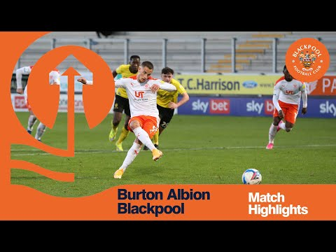Burton Blackpool Goals And Highlights