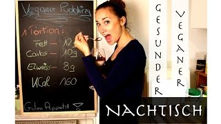 Mandelpudding Rezept - Veganer, gesunder Nachtisch - Low Carb & Low Fat -  Laktosefrei