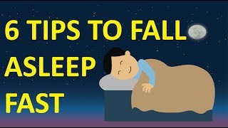 6 Tips To Fall Asleep Fast - How To Get Enough Sleep!