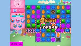 Candy Crush Saga Level 3342 16 moves NO BOOSTERS Cookie