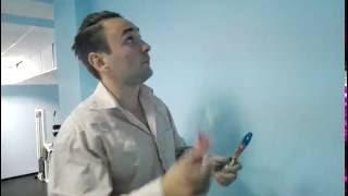 видео Покраска стен водоэмульсионной краской дизайн: 90 фото, идеи / Цвета для покраски валиком стен