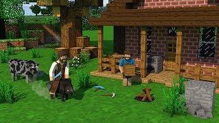 Survivalcraft 2 Multiplayer Episodio 3 Trabalhando em dupla ‹ Marcilio Max ›