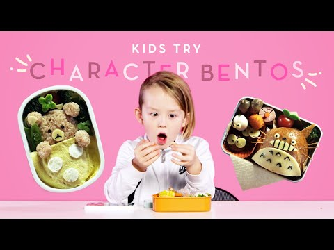 Kids Try Character Bentos | Kids Try | HiHo Kids