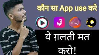 MX Taka Tak, Moj, Josh , snake App which is the best short video making App | full comparison screenshot 4