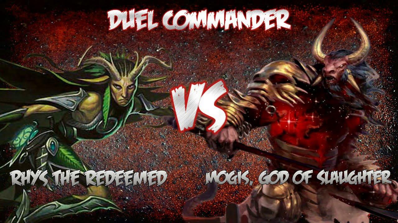 MTG Rhys the Redeemed vs Mogis, God of Slaughter - Duel ...