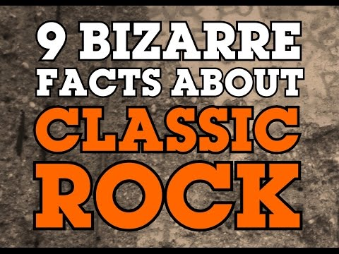 9 Bizarre Facts About Classic Rock Music
