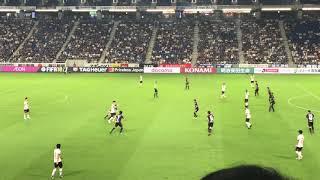ガンバ大阪vs FC東京 95分にアデミウソンのゴール!