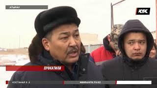 Водители атырауских автобусов отказались выходить на линию, город остался без транспорта