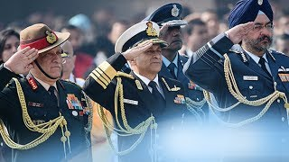 Here is why Indian Army, Navy and Air Force salutes in different manner!
