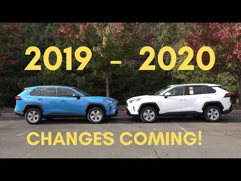 2020 RAV4 Changes Vs 2019 - What To Expect!