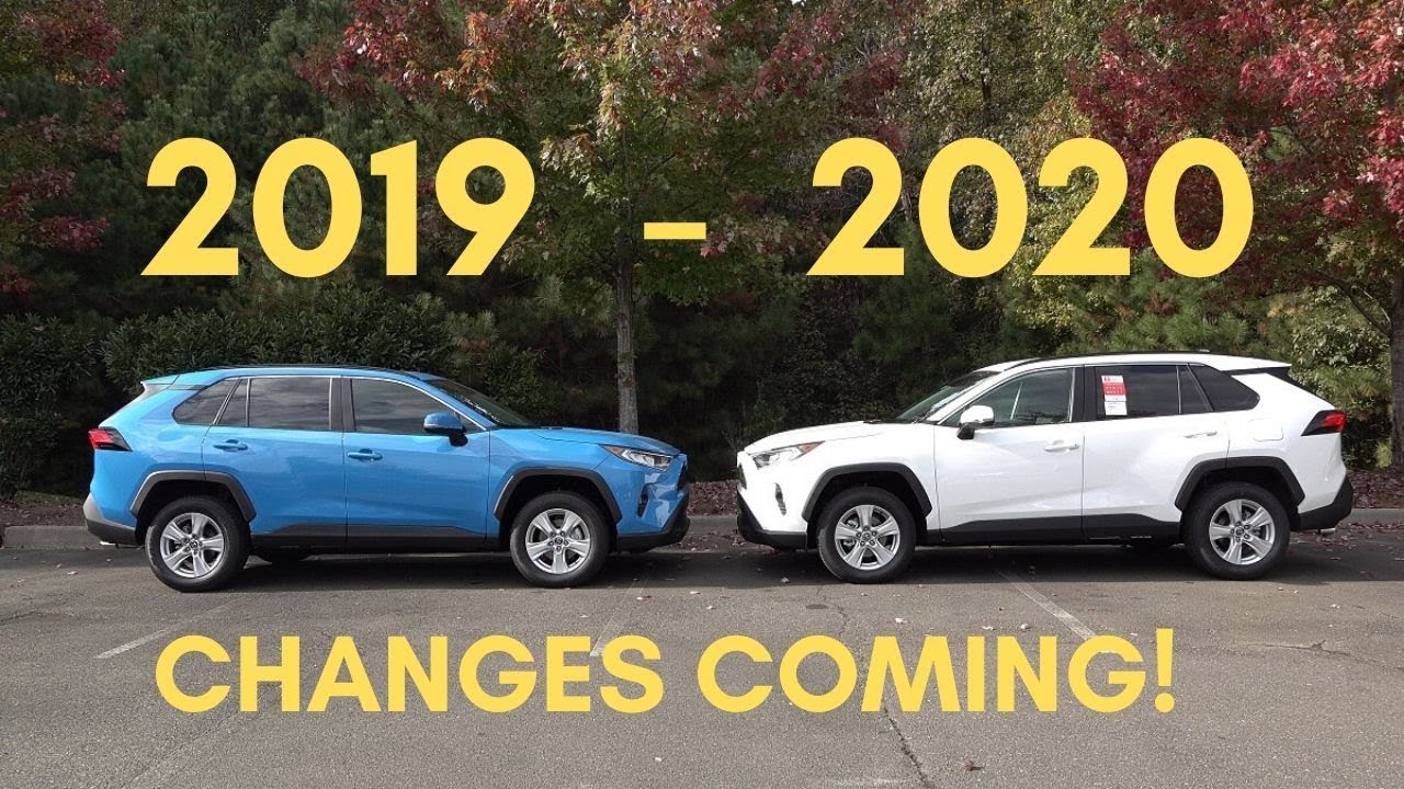 2020 Rav4 Changes Vs 2019 What To Expect Youtube