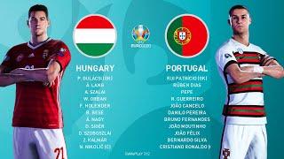 PES 2021 - Hungary vs Portugal - UEFA EURO 2020 - Full Match & Amazing Goals - C.Ronaldo vs Hungary