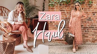 ZARA FALL 2019 HAUL + TRY ON | Summer to Fall Transition