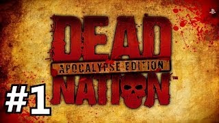 dead nation apocalypse edition hd on ps4   the last barricade has fallen part 1