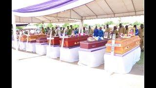 KUAGWA kwa Watumishi ( 9 ) wa Ardhi Waliofariki Kwa Ajali Morogoro