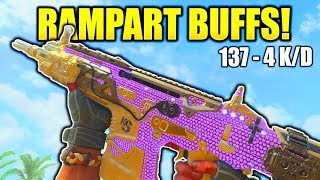 RAMPART BUFF IS INSANE BLACK OPS 4! COD BO4 1.05 PATCH NOTES RAMPART BEST CLASS SETUP BO4 NUKETOWN!