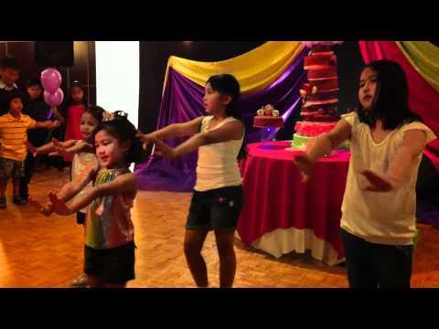 Part 1 Jadi's 7th Birthday Modern Dance