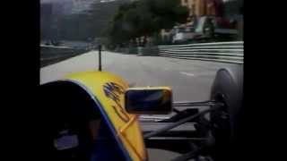F1 93 Mônaco GP Onboard Cam with Senna, Schumacher and Prost