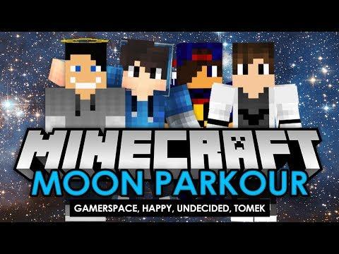 Minecraft: MOON PARKOUR #05 [END] w/ Undecided, GamerSpace, Tomek