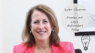 My Aha Moment with Helen Stevenson of Reformulary Group #MaRSaha
