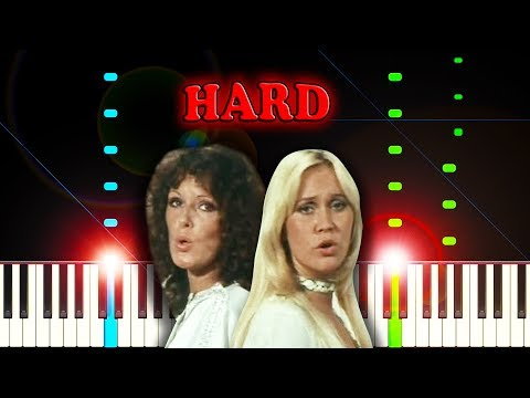 ABBA - Mamma Mia - Piano Tutorial (Hard Version)