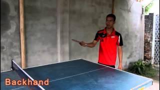 Video pembelajaran tenis meja HapHap