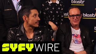The Agents of S.H.I.E.L.D. cast discuss Robbie Reyes | New York Comic-Con 2016 | Syfy Wire