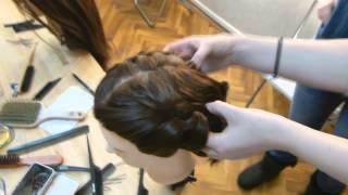 Урок плетения детских кос