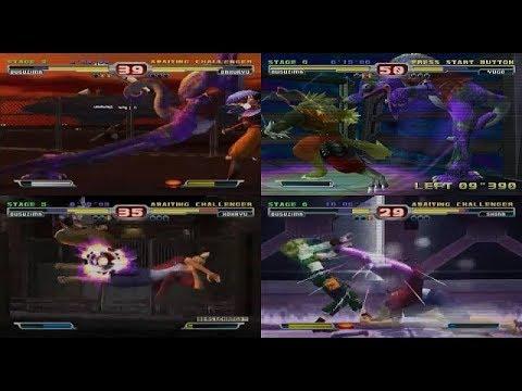 Bloody Roar 3: Arcade mode - Gameplay part 05_Basuzima Playthrough - Difficulty 8 (mdX)