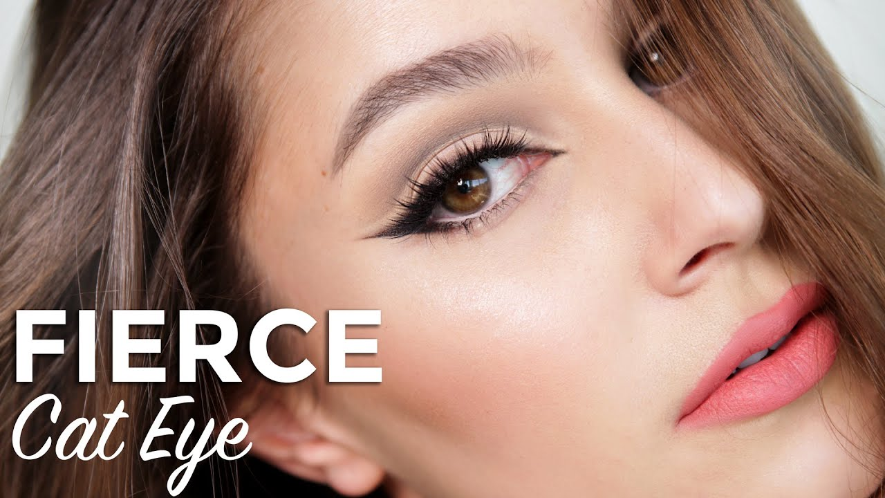 Fierce Cat Eye Amp Cut Crease Makeup Tutorial Youtube