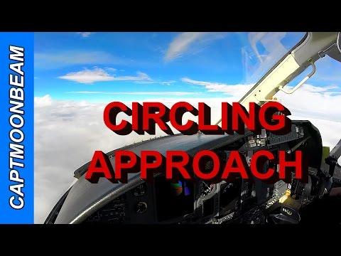 RAIN! Circling Approach and ATC, Cessna Citation Landing Saint Louis Downtown Airport