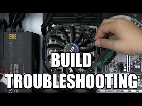 New PC Build Won't Boot.  Find Out Why.  (Livestream)