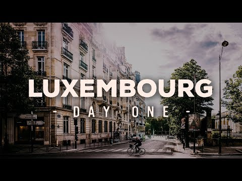 Explore Europe Vlog - Luxembourg - Day 1