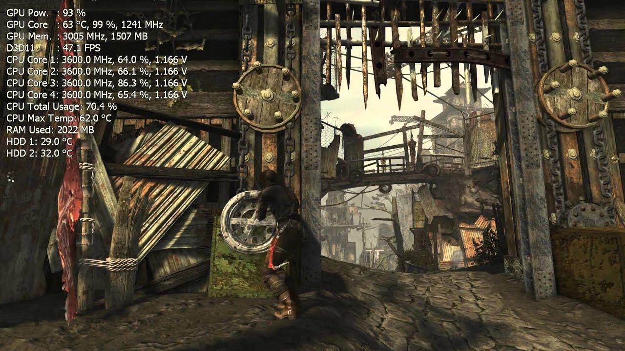 Tomb Raider 2013 Gameplay Pc Hd I5 3570k Msi Gtx 670 Power