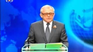 駐北朝鮮ロシア大使が流暢な朝鮮語を使ってKCTVでテレビ演説