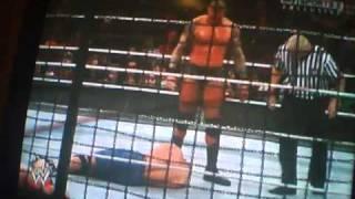 WWE elimination chamber 2011 raw elimination chamber part 2