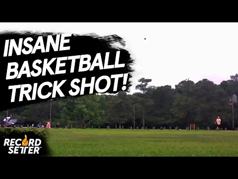 Longest Basketball Punt Into A Basketball Net!