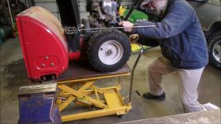 Repairing a Non Starting Snowblower Part 1