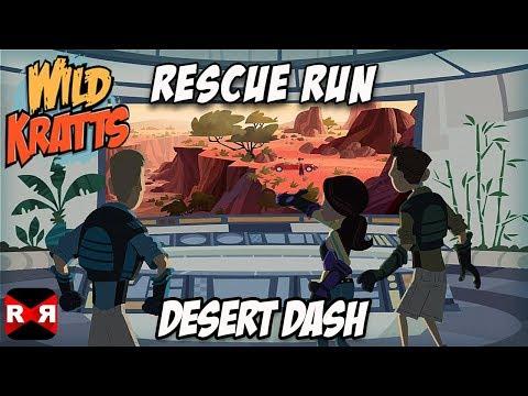 Wild Kratts Rescue Run - Desert Dash - Best Animals Learning Game For Kids