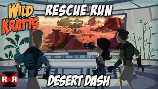Wild Kratts Rescue Run - Desert Dash - Best Animals Learning Game For Kids
