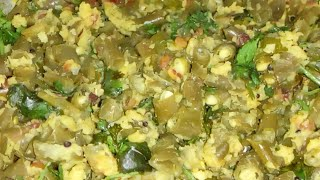 French beans curry with moongdal
