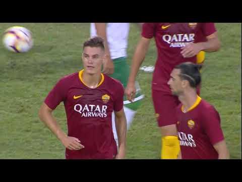 Roma-Avellino 1-1, gli highlights. Gol di Schick e assist di Perotti. Pareggio di Paghera all'ultimo