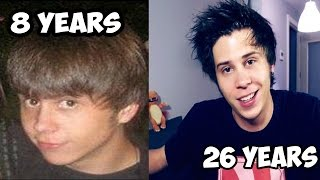 elrubiusOMG - BEFORE and AFTER (ElRubius in CHILDHOOD)