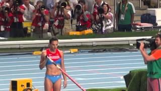 Елена Исинбаева идет на рекорд 5.07 Чемпионат мира по легкой атлетике 13.08.13(, 2013-08-14T06:22:53.000Z)