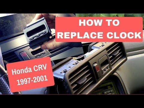 How To Replace Dash Clock - Honda CRV