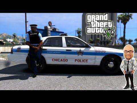 GTA5 LSPDFR   Chicago Police Patrol   LIVE   GTA 5 REAL LIFE Police Mod   #121 Sheriff Donut Live