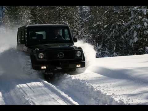 mercedes gel ndewagen in the snow youtube. Black Bedroom Furniture Sets. Home Design Ideas