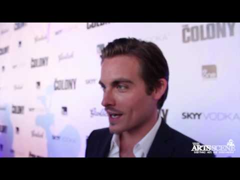 Interview with Kevin Zegers, Laurence Fishburne & Jeff Renfroe at 'The Colony' Red Carpet Premiere