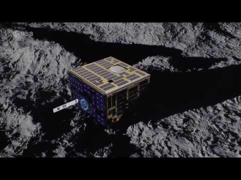 AIM: Asteroid touchdown #ESA