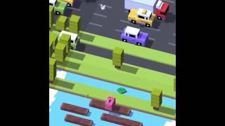 Crossy road piggy bank gameplay + free gift